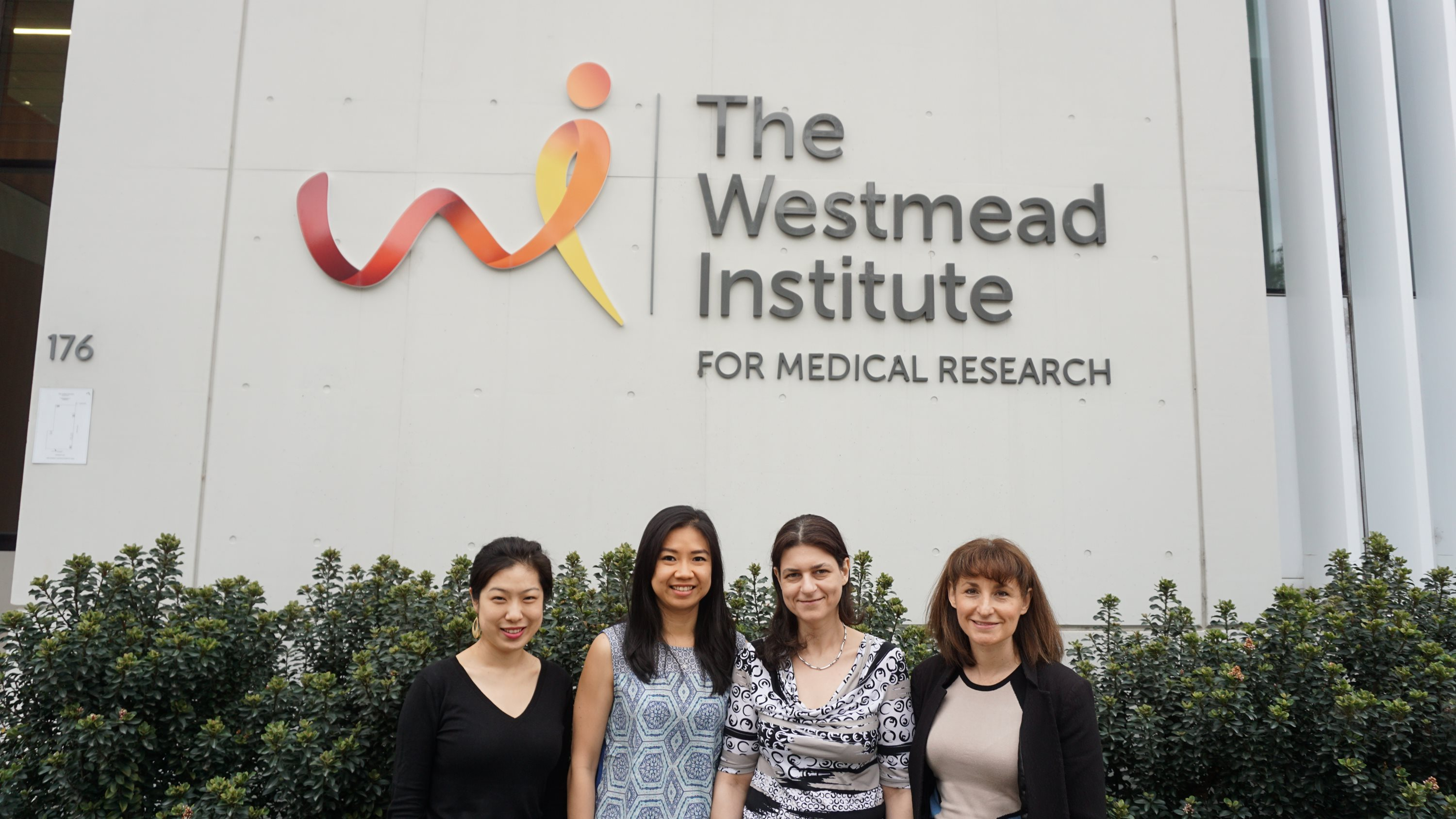 Left to right: Dr Cecilia Li, Desmarini Desmarini, Dr Sophie Lev and Assoc. Prof Julie Djordjevic (Group Leader in Fungal Pathogenesis and lead researcher).