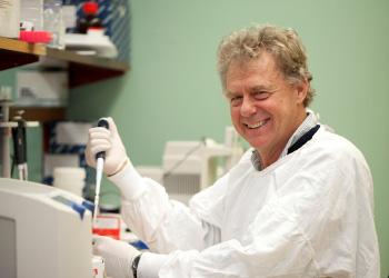 MS researcher Professor David Booth from The Westmead Institute